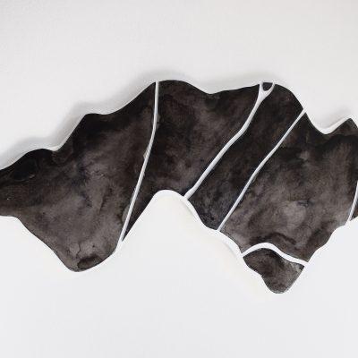 kartonrelief vlak en inkt 1