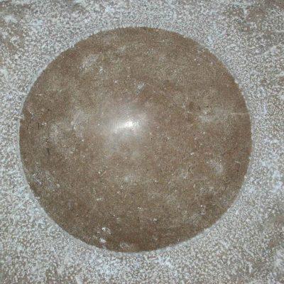 Cirkel in Franse kalksteen