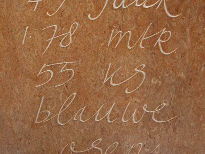 vrij handschrift