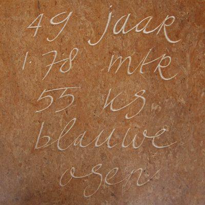 vrij handschrift Pakistaanse kalksteen