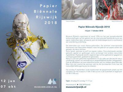 Uitnodiging Papier Biennale