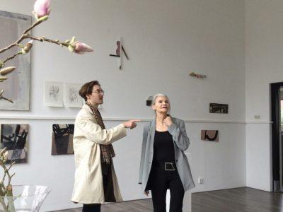Tentoonstelling in Kunstlokaal No 8